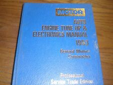 1990-1993 MOTOR Auto Engine Tune Up & Electronics Manual General Motors 12 pics