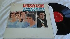 THE CARTER FAMILY w/JOHNNY CASH Keep on the Sunny Side COUNTRY LP  MONO VG+