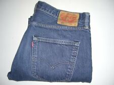 Mens LEVI'S STRAUSS & CO. 501 Blue Denim Jeans W36 L30 Straight Leg