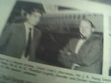 magazine picture 1970 aviation electronics court line chairman young posey