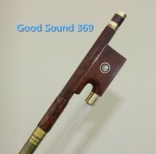 1pcs Snake Wood Violin Bow 4/4, Frog-Paris Eye inlay High Quality