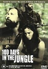 100 Days In The Jungle  [ DVD ], Region 4, Like New, Fast Next Day Post....6469