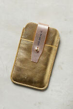 NWT Anthropologie Metallic Idiom iPhone 6/6S Leather Case *SOLD OUT in stores!