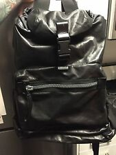 Lanvin crossbody one-strap soft leather bag backpack saint laurent givenchy
