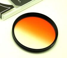 58mm Graduated Orange Filter For Canon Tamron Sony Olympus DSLR Lens