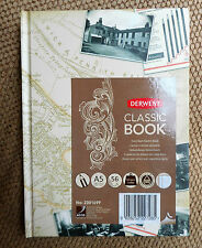 Derwent Classic Book A5 Hard Back Sketch Book Stitched Spine - 56 sheets