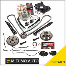 Fit Timing Chain Kit Cam Phaser Oil Water Pump 04-08 Ford 5.4 TRITON 3-Valve
