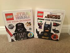 Lego Star Wars And Batman Visual Dictionary - Excellent Condition