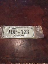 Vintage Bicycle License Plate Maine Vacationland 1979