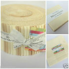 MODA Bella solids shades of CREAM 100 % cotton jelly roll charm pack layer cake