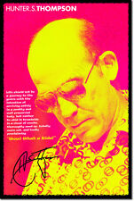 Hunter S. Thompson ARTE FOTO STAMPA POSTER paura e avversione