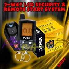NEW VIPER 5305V 2 WAY LCD VEHICLE CAR ALARM KEYLESS ENTRY REMOTE START SYSTEM