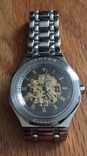 Men's Croton Limited Edition Skeleton Watch Awesome!!    #324 Of 999