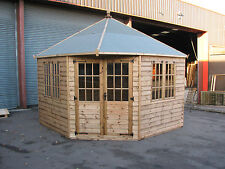 10' x 10' New Geogian Corner Summer House RRP £3888  Delivery charges applicable