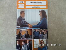 CARTE FICHE CINEMA 2012 SHADOW DANCER Clive Owen Andrea Riseborough Aidan Gillen