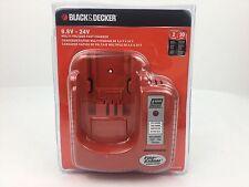 BLACK&DECKER 9.6V to 24V MULTI-VOLTAGE 1 HOUR FAST CHARGER BDCCN24