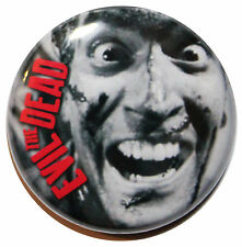 "1"" (25mm) 'THE EVIL DEAD' 1981 Movie Button Badge Pin"