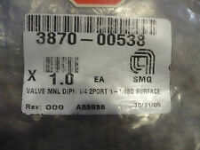 New AMAT Applied Materials 3870-00538 Valve SEALED