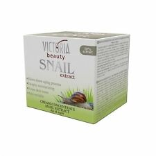 Anti-Ageing Face-Cream VICTORIA BEAUTY for Day & Night  10% Snail Extract