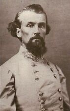 General Nathan Bedford Forrest, Confederate Army --- Civil War Military Postcard