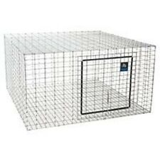 "NEW MILLER PET LODGE AH2424 24"" X 24""X16 RABBIT HUTCH ANIMAL CAGE WIRE MESH"