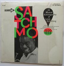Louis Armstrong - Satchmo A Musical Autobiography,good condtion