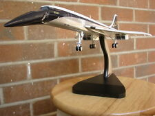 Historic BOAC British Airways CONCORDE Wood Model Aircraft BIG vintage rare