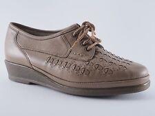 GOLDKRONE Damen Schuhe 3 1/2 Leder Halbschuhe Für lose Einlagen Braun NEU
