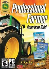 Professional Farmer American Gold PC Games Window 10 8 7 Vista XP farm simulator