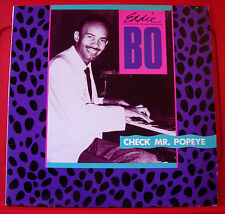 Eddie Bo Check Mr.Popeye LP UK 1988 Edsel ED 259 Tell It Like It Is/Dinky Doo++