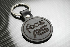 FOCUS RS Luxury Leather Keyring Schlüsselring Porte-clés Ford Motorsport FRS Mk1
