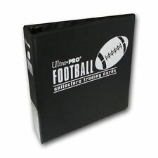 "Ultra Pro 3"" Football Trading Card Collector's Album Black Binder"
