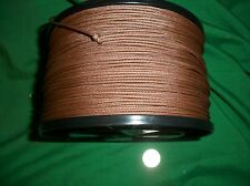 750' 100% NYLON BRAIDED ROPE CORD STRING 2.0mm RUST BROWN