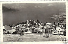 Suisse - GLION en hiver - Vue sur Montreux Clarens
