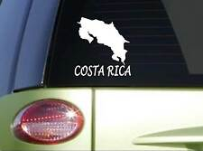 "Costa Rica *I111* 7"" Sticker decal country flag island"
