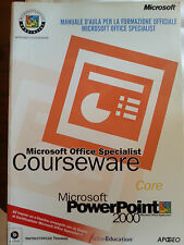 Microsoft Office Specialist Courseware Core - Apogeo - Power Point 2000 -Manuale