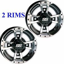 TWO ITP SS112 10x5 4/156 3+2 Sport ATV RIM WHEEL fits some KTM Polaris Yamaha