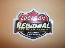 Lucas Oil Off Road Racing 4X4 Sticker Decal Rally Helmet Racing Go Cart Buggy
