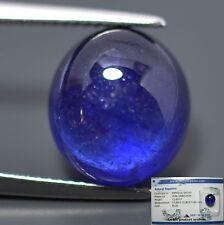 GRANDE ZAFFIRO  BLU NATURALE OVALE  IN BLISTER CT. 11,63  CABOCHON