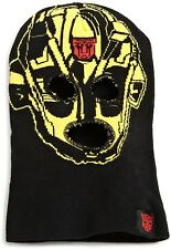 NEW BOYS AWESOME TRANSFORMERS BUMBLEBEE FACE MASK BEANIE GREAT FOR COLD WEATHER