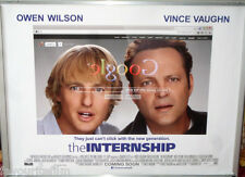 Cinema Poster: INTERNSHIP, THE 2013 (Quad) Owen Wilson Vince Vaughn Rose Byrne
