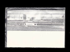 Hudson River Dayline Boat unused Postcard- Albany (Undivided Back)
