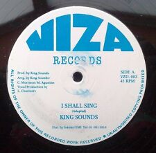 "KING SOUNDS "" I SHALL SING ""UNPLAYED FORMER  STORE STOCK COPY UK VIZA ORIG 12"""