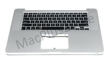 "Apple Topcase & Tastatur QWERTY Englisch Macbook Pro 15"" Unibody Mid 2010 A1286"