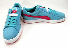 Puma Shoes Classic Suede Light Baby Blue Sneakers Size 10 EUR 43