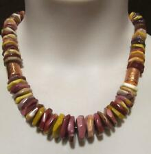 "JAY KING MINE FINDS~Mookaite/Mookite~Copper Barrel Bead~20"" Necklace~EUC"