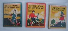 3 Vintage Children of America Series 1930s Middle West New England Golden Coast
