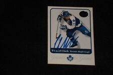 HOF WENDEL CLARK 2001 FLEER GREATS OF THE GAME SIGNED AUTOGRAPHED CARD #34