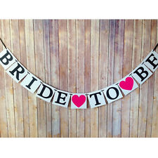 Bride To Be Bunting Banner Garland Hen Night DO Bridal Shower Party Sign Decor