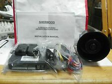 SHERWOOD CAR SECURLEY SYSTEM WITH GLASS BREAKAGE SENSOR S-100R NEW IN BOX